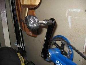 Special crank bolts