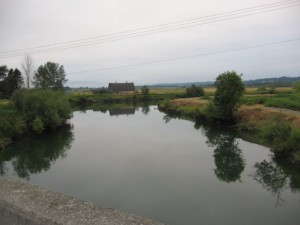 Snohomish Slough crossing