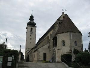 Basilica in Enns