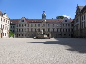 Thurn and Taxis Palace in Regensburg