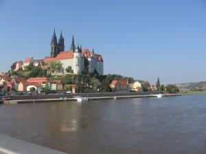 Medieval fortress in Meißen