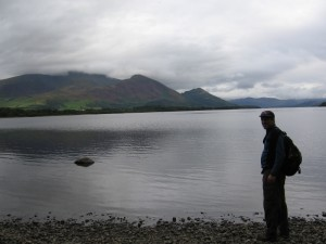 Randy at the top of Lake Bassenthwaite