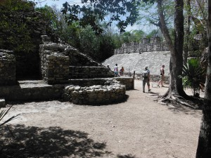 Ball court at Cobá