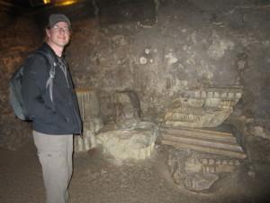 Roman crypt at Arles