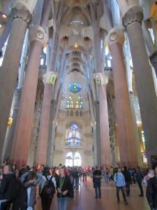 Sagrada Família, interior
