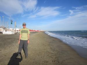 Ostia Lido beach