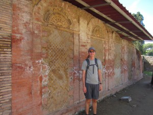Ostia Antica brickwork