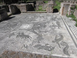 Mosaic, Ostia Antica