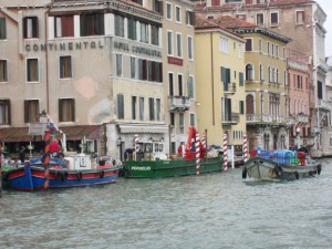 Boats on the Grand Canal
