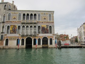 Building on the Grand Canal