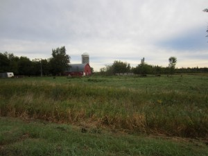Minnesota barn with silo