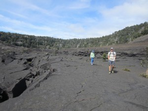 Lava lake in Hawaii Volcanoes National Park
