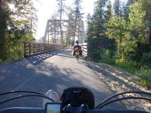 Bike Travel Weekend - The way back