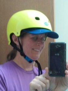 Helmet and visor