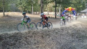 kids mountain bike racing