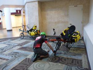 Bikes in Nashville airport