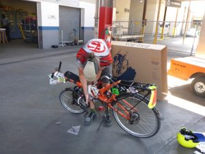 bike packing for Amtrak