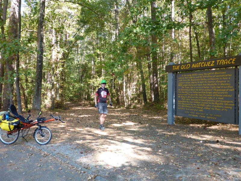 Natchez Trace Parkway Elevation Map.Cycling The Natchez Trace Part 1 Jennifer And Zach S Adventures
