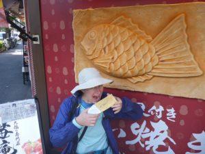 Fish pancake