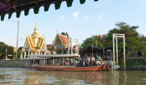 Ayutthaya riverside temple